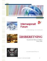 2008 beretning Internasjonalt Forum
