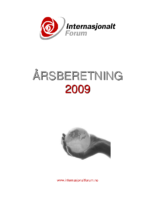 2009 beretning Internasjonalt forum