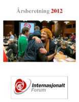 2012 beretning Internasjonalt Forum