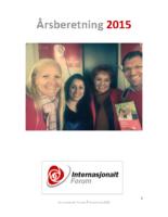 2015 beretning Internasjonalt Forum