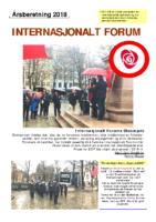 2018 beretning Internasjonalt Forum