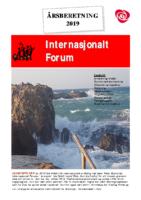 2019 beretning Internasjonalt Forum
